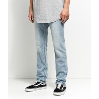 Men Empyre Skeletor Classic Light Skinny Fit Jeans BLUE Skinny fit through the thighs with straight leg cut 258546 PEKKFDK