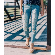 KanCan Mid-Rise Ankle Skinny Stretch Cuffed Jean Shop All Brill Boutique 48177KC6114LA EGDKYWZ